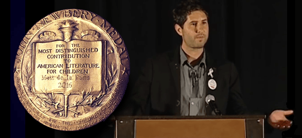 2016 Newbery-Caldecott-Wilder Banquet: Newbery Speech